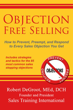 Objection Free Selling, objection handling, sales objections